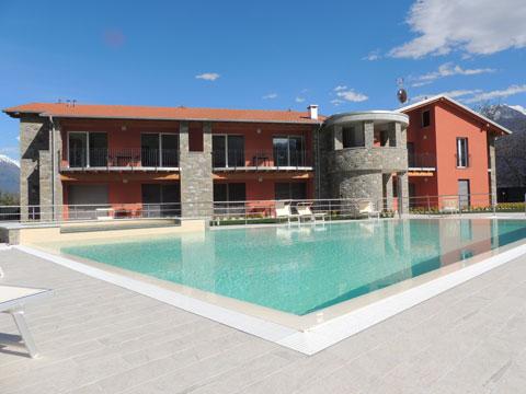 Bilder von Comer See Ferienanlage Paradiso_Legnoncino_Gravedona_15_Pool