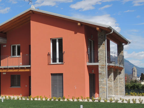 Bilder von Comer See Ferienresidenz Paradiso_Legnoncino_Gravedona_55_Haus