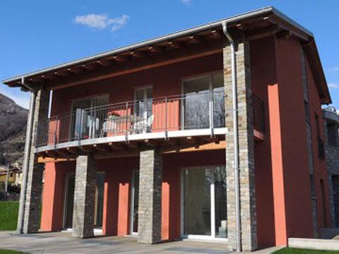 Bilder von Comer See Ferienanlage für Familien Paradiso_Legnoncino_Gravedona_56_Haus