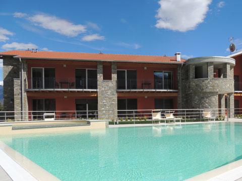 Bilder von Lago di Como Residence Paradiso_Sasso_Pelo_Gravedona_15_Pool