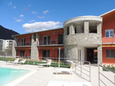 Bilder von Lago di Como Residence Paradiso_Sasso_Pelo_Gravedona_55_Haus