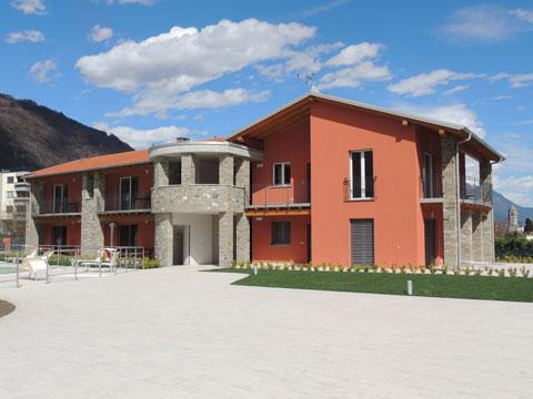 Bilder von Lago di Como Residence Paradiso_Sasso_Pelo_Gravedona_56_Haus