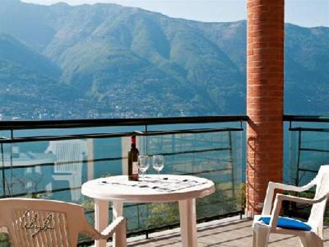 Bilder von Lago Maggiore Ferienwohnung Pensiero_4008_Tronzano_10_Balkon