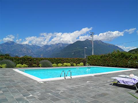 Bilder von Comer See Ferienwohnung Perla_Colico_15_Pool