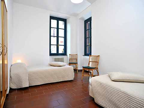 Bilder Apartment Pescallo_primo_piano_Bellagio_45_Schlafraum Lake Como / Lombardy