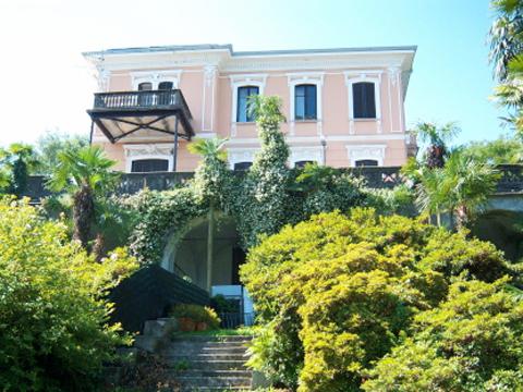 Bilder von Lake Maggiore Apartment Portici_576_Stresa_55_Haus