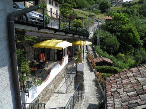 Bilder von Comer See Ferienwohnung Prosecco_Gravedona_55_Haus