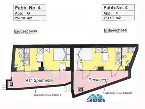 Bilder von Lago di Como Appartamento Prosecco_Gravedona_70_Plan