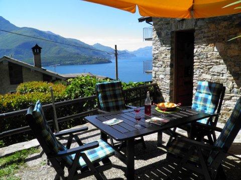 Bilder von Comer See Ferienwohnung Ribolla_Gravedona_10_Balkon