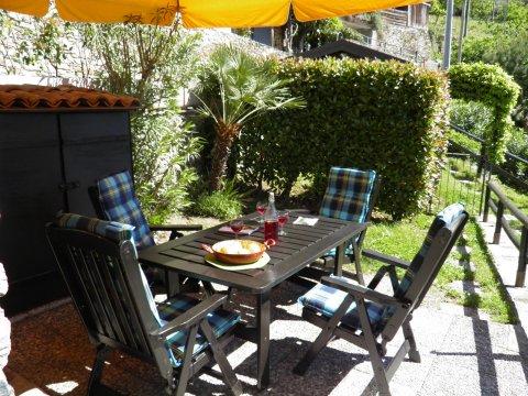Bilder von Comer See Ferienwohnung Ribolla_Gravedona_11_Terrasse