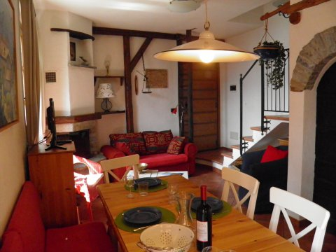 Bilder von Lake Como Apartment Ribolla_Gravedona_31_Wohnraum