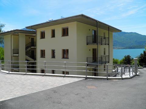 Bilder von Comer See Ferienwohnung Riva_Sole_Gera_Lario_55_Haus