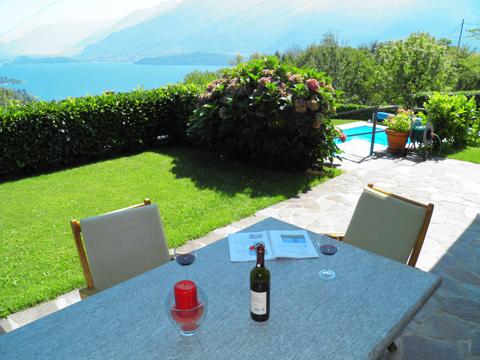 Bilder von Lake Como Apartment Ronco_Alborescia_10_Balkon