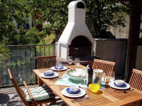 Bilder von Comer See Ferienhaus Rosato_Gravedona_11_Terrasse
