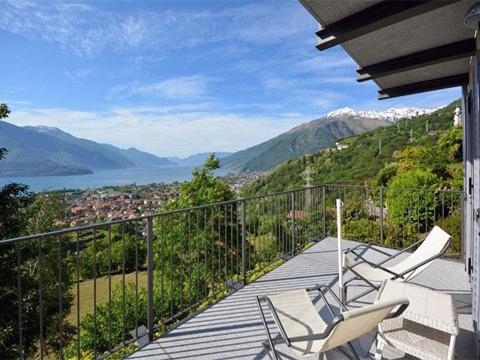 Bilder von Comer See Rustico / Natursteinhaus Rosina_Gravedona_10_Balkon