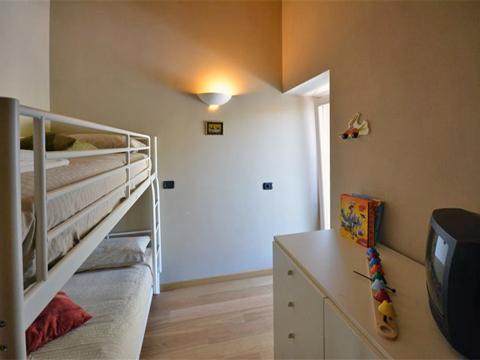Bilder von Comer See Rustico / Natursteinhaus Rosina_Gravedona_45_Schlafraum