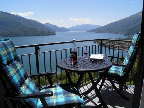 Bilder von Lago di Como Appartamento Sangiovese_Gravedona_10_Balkon