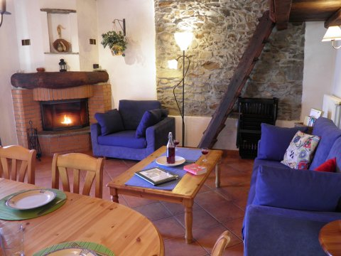 Bilder von Comer See Ferienwohnung Sangiovese_Gravedona_40_Doppelbett-Schlafzimmer