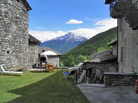 Bilder von Comer See Ferienwohnung Serravalle_Livo_20_Garten