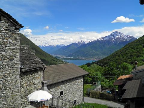 Bilder von Comer See Ferienwohnung Serravalle_Livo_25_Panorama