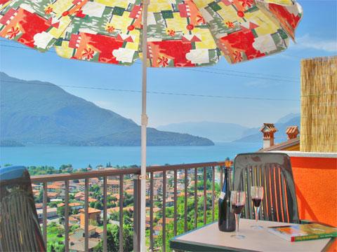 Bilder von Comer See Ferienwohnung Silvia_Vercana_10_Balkon