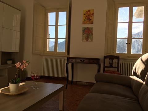 Bilder von Comer See Ferienwohnung Sole_Tremezzo_31_Wohnraum