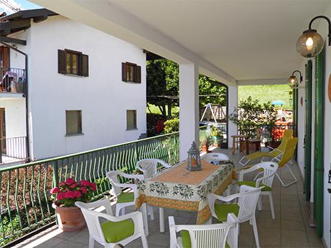 Bilder von Comer See Ferienwohnung Teresa_Stazzona_10_Balkon