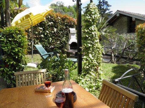 Bilder von Comer See Ferienwohnung Trebbiano_Gravedona_11_Terrasse