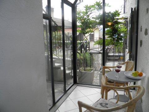 Bilder von Lake Como Apartment Trebbiano_Gravedona_35_Kueche