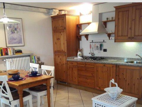 Bilder von Comer See Ferienwohnung Trebbiano_Gravedona_40_Doppelbett-Schlafzimmer