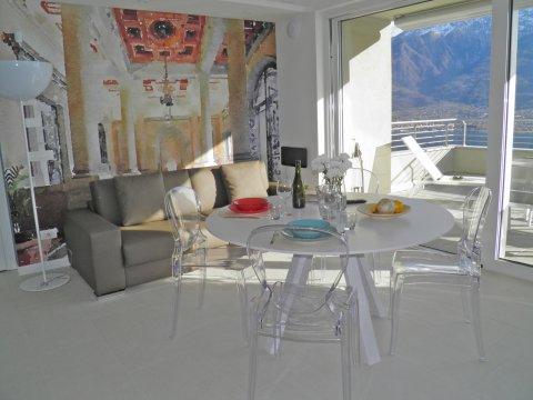 Bilder von Comer See Wellness Ferienwohnung Valarin_Firenze_Vercana_10_Balkon