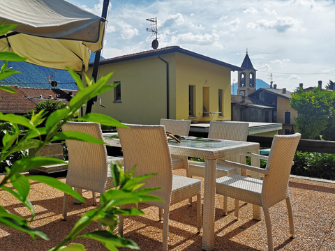 Bilder von Comer See Ferienwohnung Viki_Carlazzo_10_Balkon