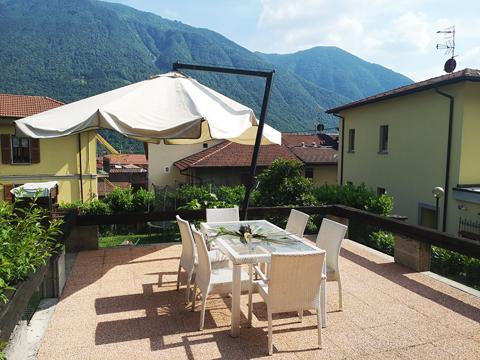 Bilder von Comer See Ferienwohnung Viki_Carlazzo_11_Terrasse