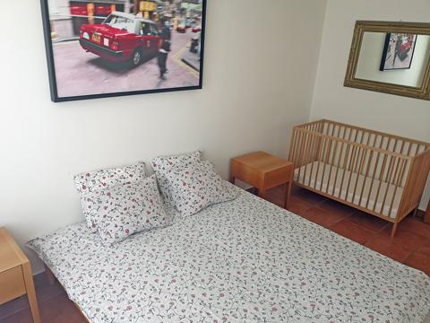 Bilder von Comer See Ferienwohnung Viki_Carlazzo_40_Doppelbett-Schlafzimmer