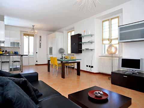 Bilder von Comer See Ferienwohnung Villa_800_Bellagio_30_Wohnraum