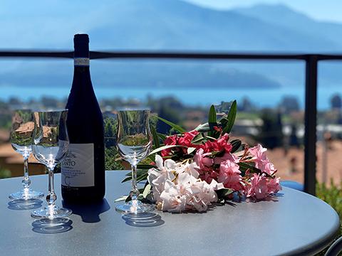 Bilder von Comer See Ferienwohnung Villa_Ago_Topazio_Gravedona_11_Terrasse
