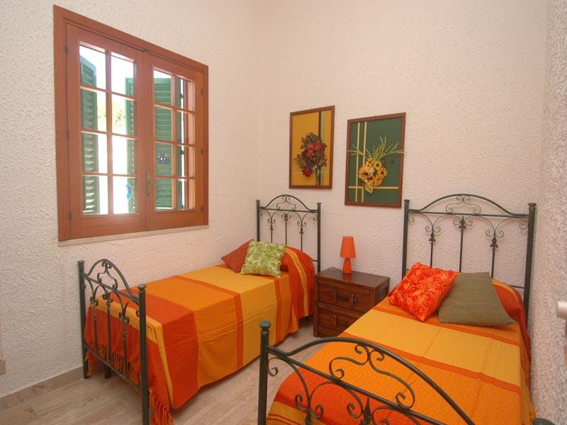 Bilder von Sicily North Coast Villa Villa_I_Faraglioni_Castellammare_del_Golfo_41_Doppelbett