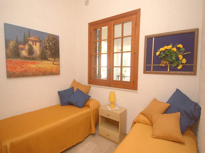 Bilder von Sicily North Coast Villa Villa_I_Faraglioni_Castellammare_del_Golfo_45_Schlafraum