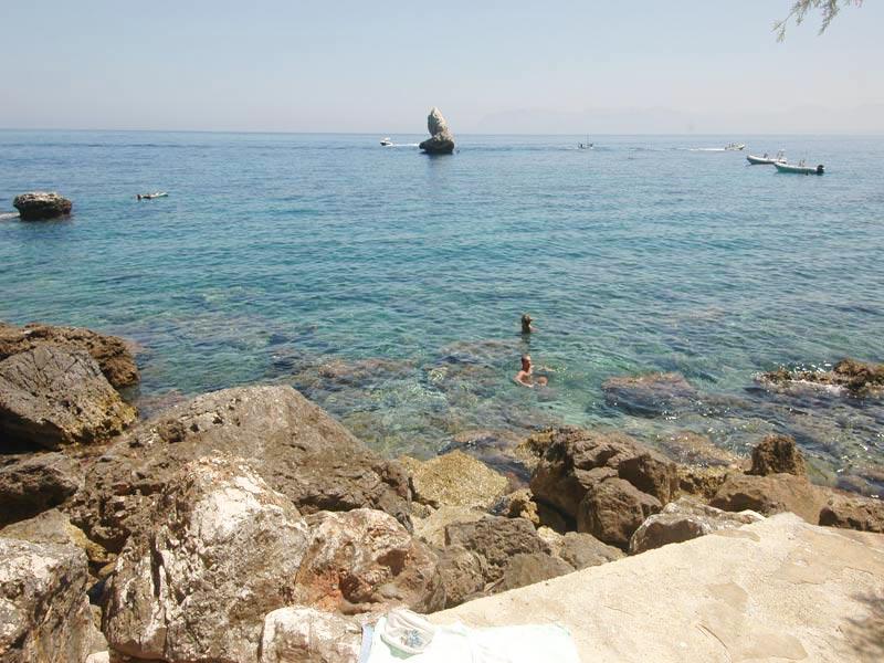 Bilder von Sicily North Coast Villa Villa_I_Faraglioni_Castellammare_del_Golfo_65_Strand