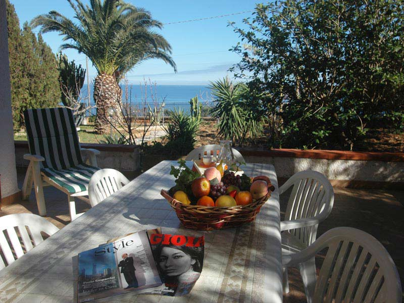 Bilder von Sizilien Nordküste Villa Villa_Valery_Castellammare_del_Golfo_21_Garten