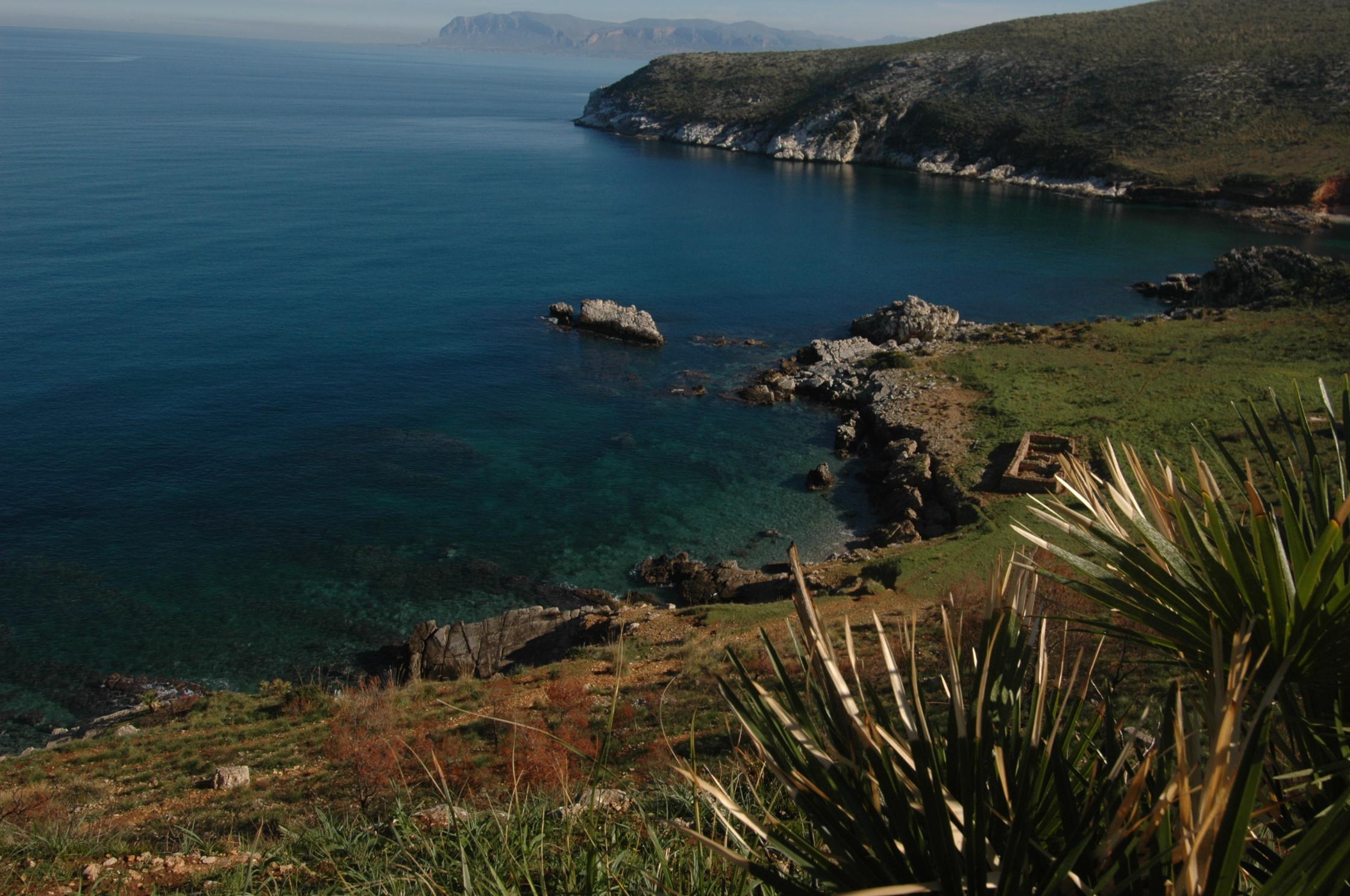 Bilder von Sizilien Nordküste Villa Villa_Valery_Castellammare_del_Golfo_65_Strand