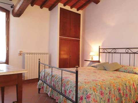 Bilder von Chianti Appartamento Villa_di_Sotto_7_Castelnuovo_Berardenga_40_Doppelbett-Schlafzimmer