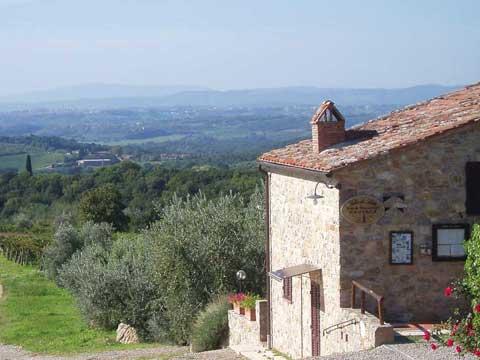 Bilder von Chianti Ferienwohnung Villa_di_Sotto_8_Castelnuovo_Berardenga_25_Panorama