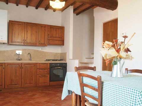 Bilder von Chianti Ferienwohnung Villa_di_Sotto_8_Castelnuovo_Berardenga_35_Kueche