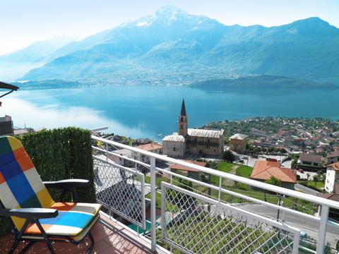 Bilder von Comer See Ferienwohnung Vista_Vercana_10_Balkon