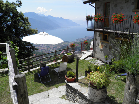 Bilder von Comer See Hotel Agriturismo B&B Zertin_Typ_2_Peglio_21_Garten