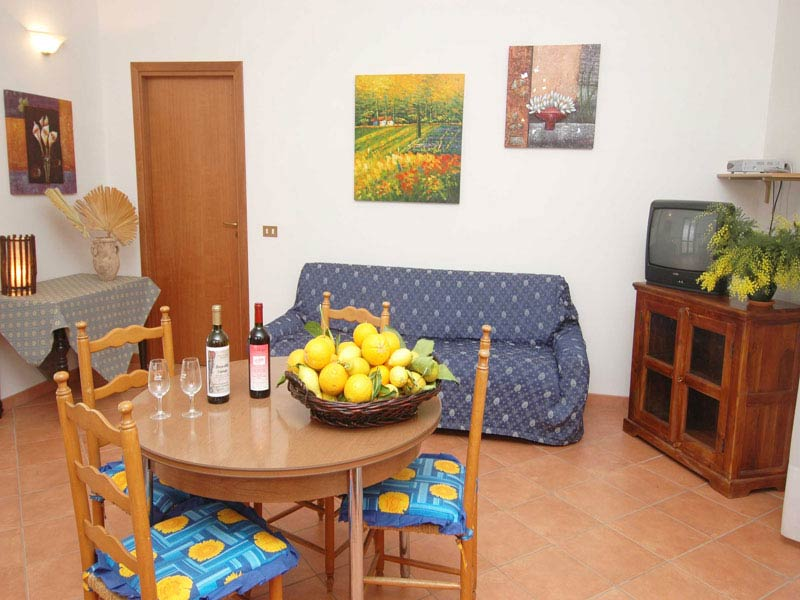Bilder von Sizilien Nordküste Villa dei_Limoni_Castellammare_del_Golfo_30_Wohnraum