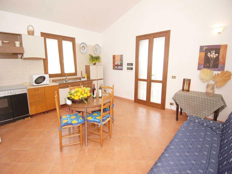 Bilder von Sizilien Nordküste Villa dei_Limoni_Castellammare_del_Golfo_35_Kueche