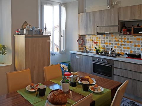 Bilder von Lake Como Apartment del_Borgo_Mezzegra_35_Kueche