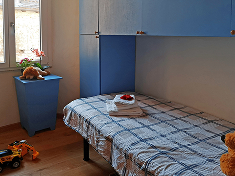 Bilder von Lake Como Apartment del_Borgo_Mezzegra_46_Schlafraum